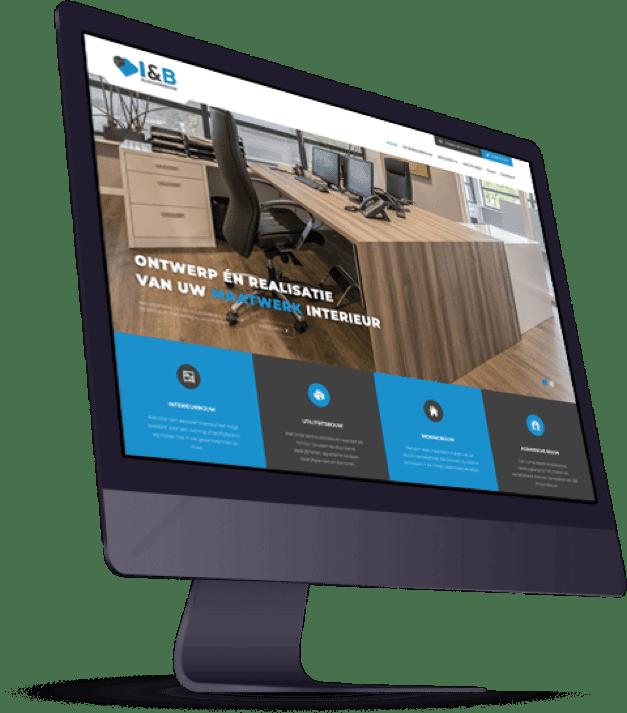 I&B Allroundbouw website